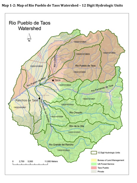 We Are Currently Seeking Funds To Implement Our Approved Watershed Based Plan For This Area These Maps Are Also Available In The Rio Pueblo De Taos